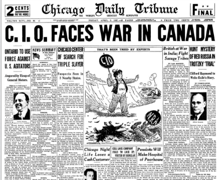 Chicago Daily Tribune April 9, 1937