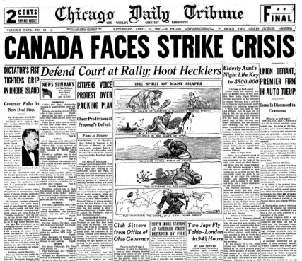 Chicago Daily Tribune April 10, 1937