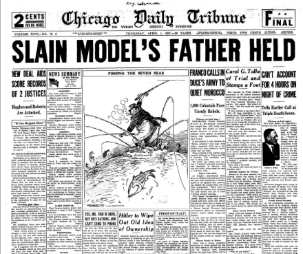 Chicago Daily Tribune April 1, 1937