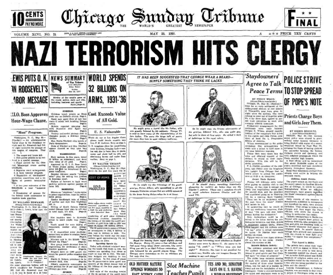 Chicago Daily Tribune May 23, 1937