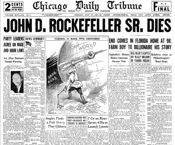 The Chicago Daily Tribune May 24, 1937