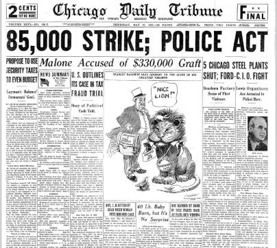 Chicago Daily Tribune May 27, 1937
