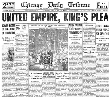 Chicago Daily Tribune May 13, 1937