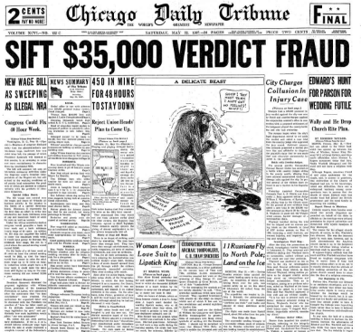Chicago Daily Tribune May 22, 1937