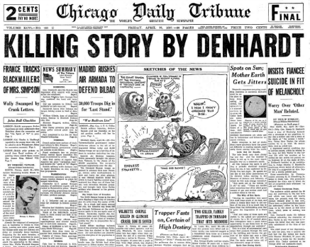 Chicago Daily Tribune April 30, 1937
