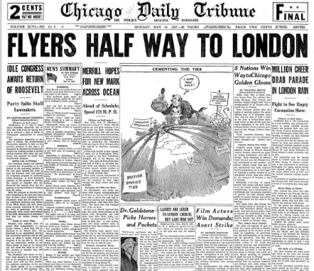 Chicago Daily Tribune May 10, 1937