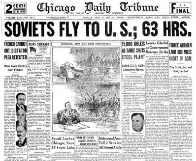 Chicago Daily Tribune June 21, 1937