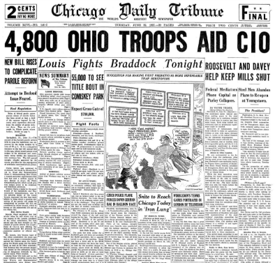 Chicago Daily Tribune June 22, 1937