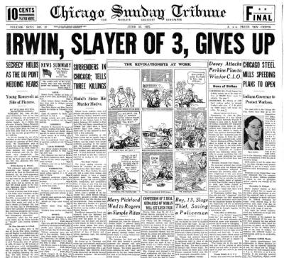 Chicago Daily Tribune June 27, 1937