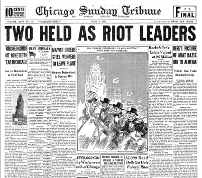 Chicago Sunday Tribune June 6, 1937