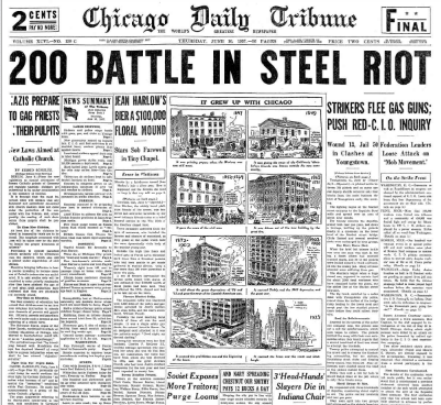Chicago Daily Tribune June 10, 1937