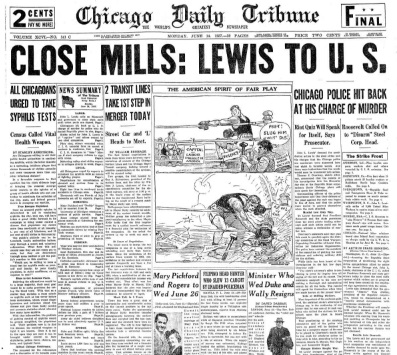 Chicago Daily Tribune June 14, 1937