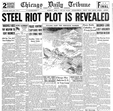 Chicago Daily Tribune June 7, 1937