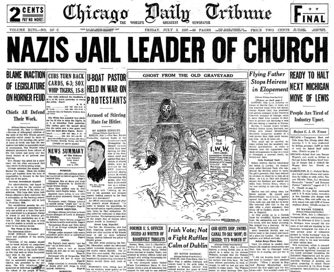 Chicago Daily Tribune July 2, 1937