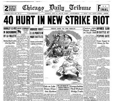 Chicago Daily Tribune July 27, 1937
