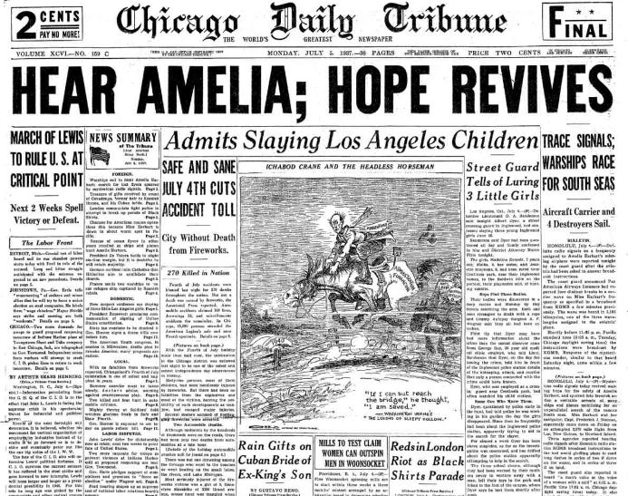Chicago Daily Tribune July 5, 1937