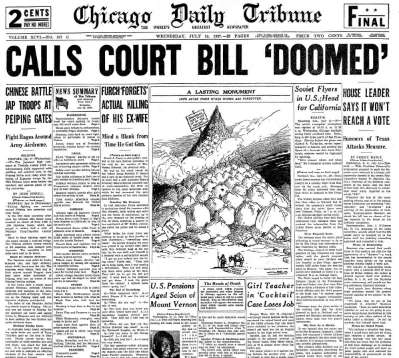 Chicago Daily Tribune July 14,  1937
