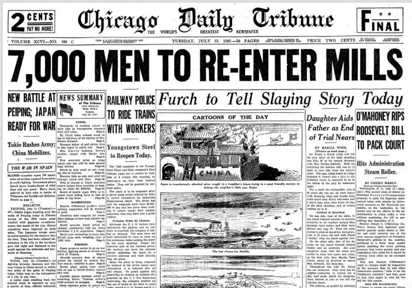 Chicago Daily Tribune July 13, 1937