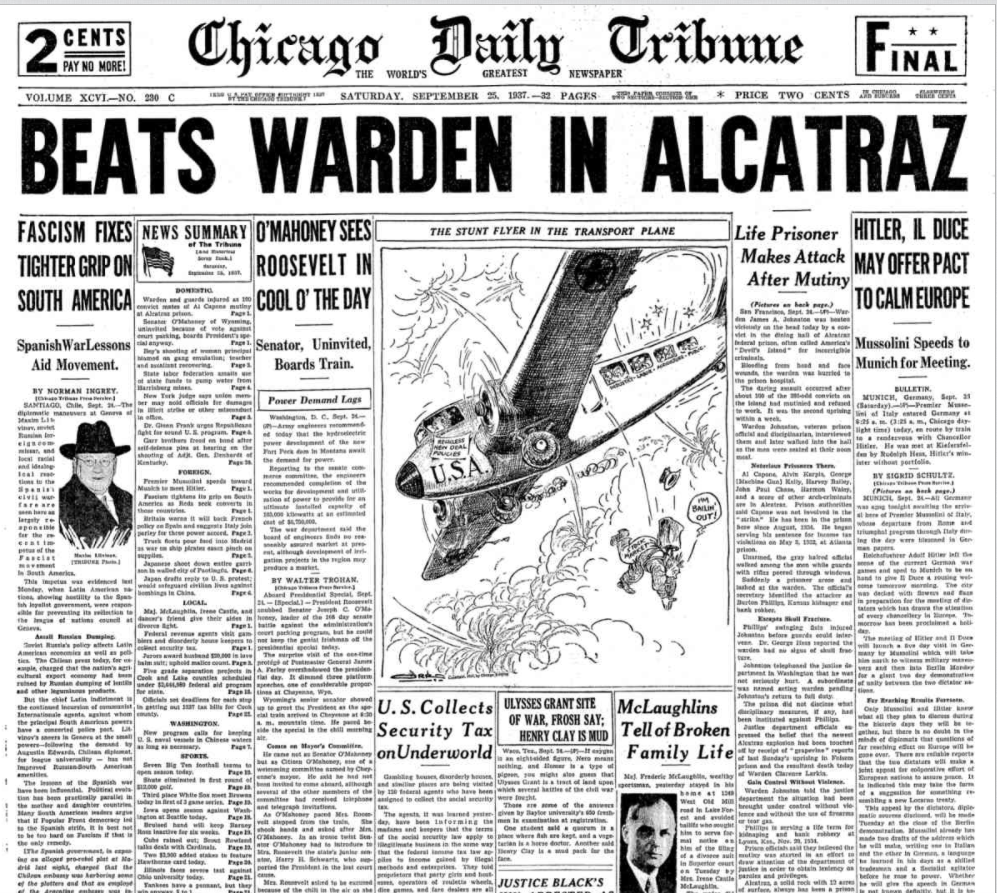 Chicago Daily Tribune Sept 25, 1937